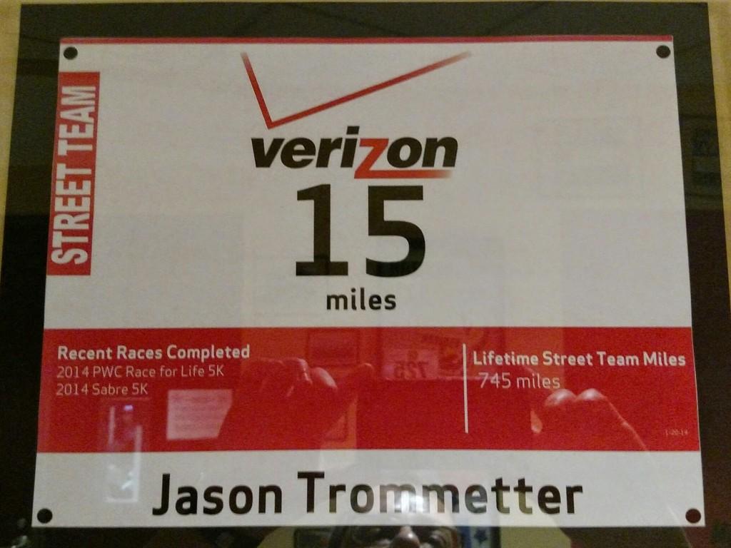 Street Team Certificate